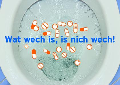 Wat wech is, is eben nicht wech!