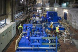Läuft nun: unsere neue Turbine auf der Kläranlage Bottrop. Foto: Rupert Oberhäuser