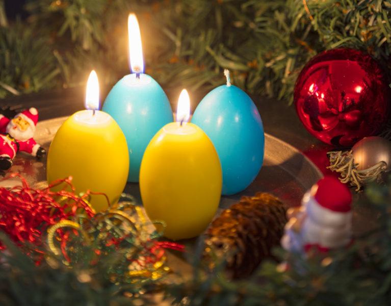 "Advent, Advent – drei Faultürme ""brennen""…"