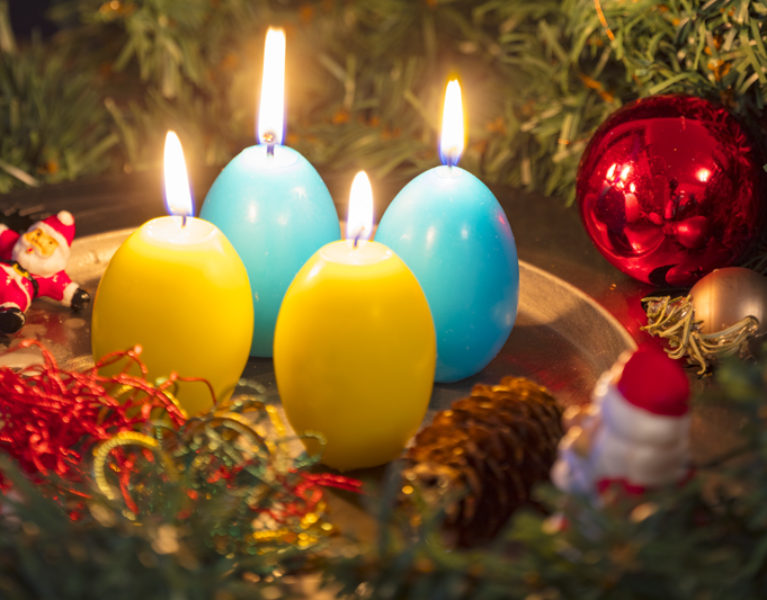 "Advent, Advent – vier Faultürme ""brennen""…"