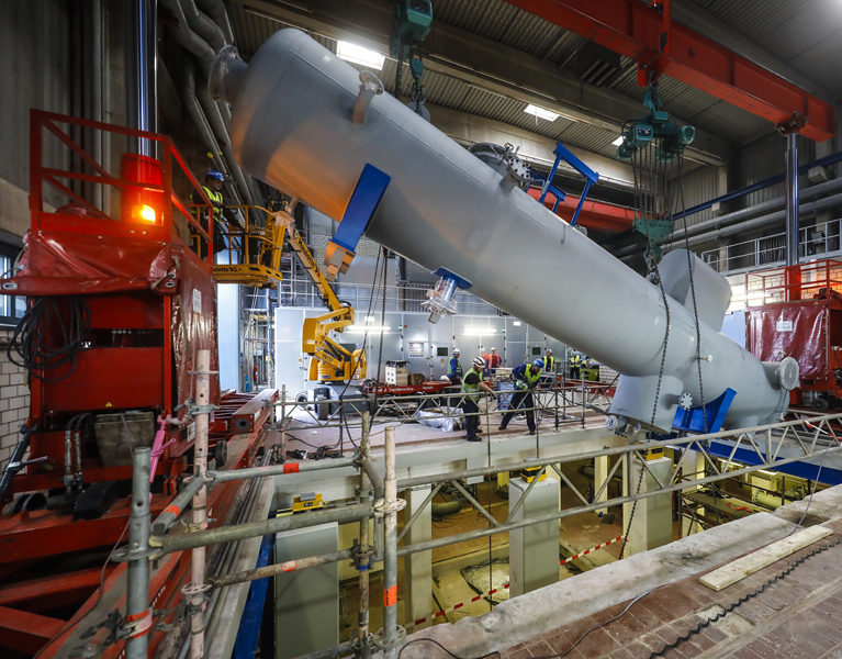 Neue Turbine erzeugt kräftig Strom!