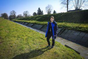 An der Berne in Bottrop: Bettina Gruber. Fotos: Rupert Oberhäuser/Emschergenossenschaft