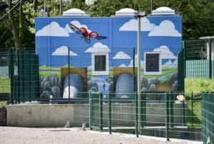 Das Pumpwerk: Gestaltet nach Ideen aus der Bevölkerung Foto: Kirsten Neumann/EGLV