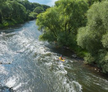 Welch ein Fluss: die wilde Lippe bei Dorsten. Für diesen Bereich ist ebenfalls Michael Schulte-Althoff zuständig. Foto: Jochen Durchleuchter/EGLV