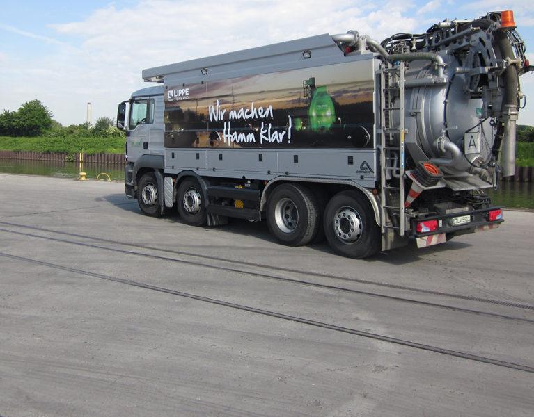 800 Kilometer (!) Kanalnetz in Hamm