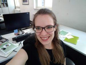 Selfitime: Müde aber glücklich nach einem Tag voller Arbeit. Foto: Celina Winter/EGLV