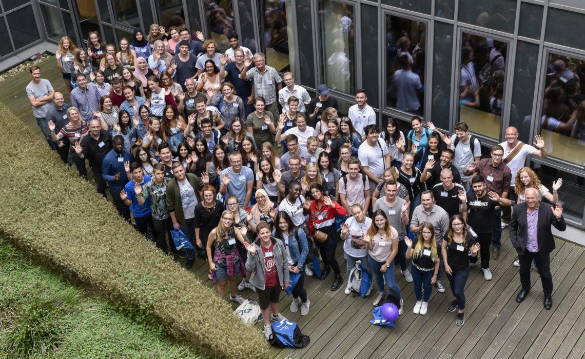 80 Unesco-SchülerInnen erforschten das Emschergebiet