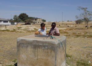 Im vergangenen Jahr arbeitete Silke Wienforth ehrenamtlich in Namibia mit. Foto: privat
