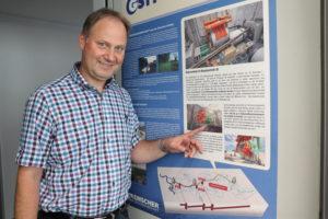 Kanalbau gehört aktuell zu seinem Alltagsgeschäft: Unser Kollege Wolfgang Altenhoff ist einer der AKE-Projektleiter. Foto: Celina Winter/EGLV