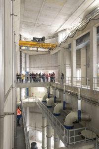 Faszinierende Dimensionen bietet das Pumpwerk Gelsenkirchen.