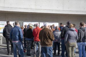Volle Gruppen: Über den Tag verteilt kamen mehr als 320 Menschen zu den Führungen.