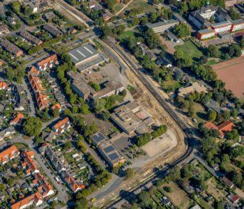 BU: Käthe-Kollwitz-Schule. Foto: Blossey/EGLV