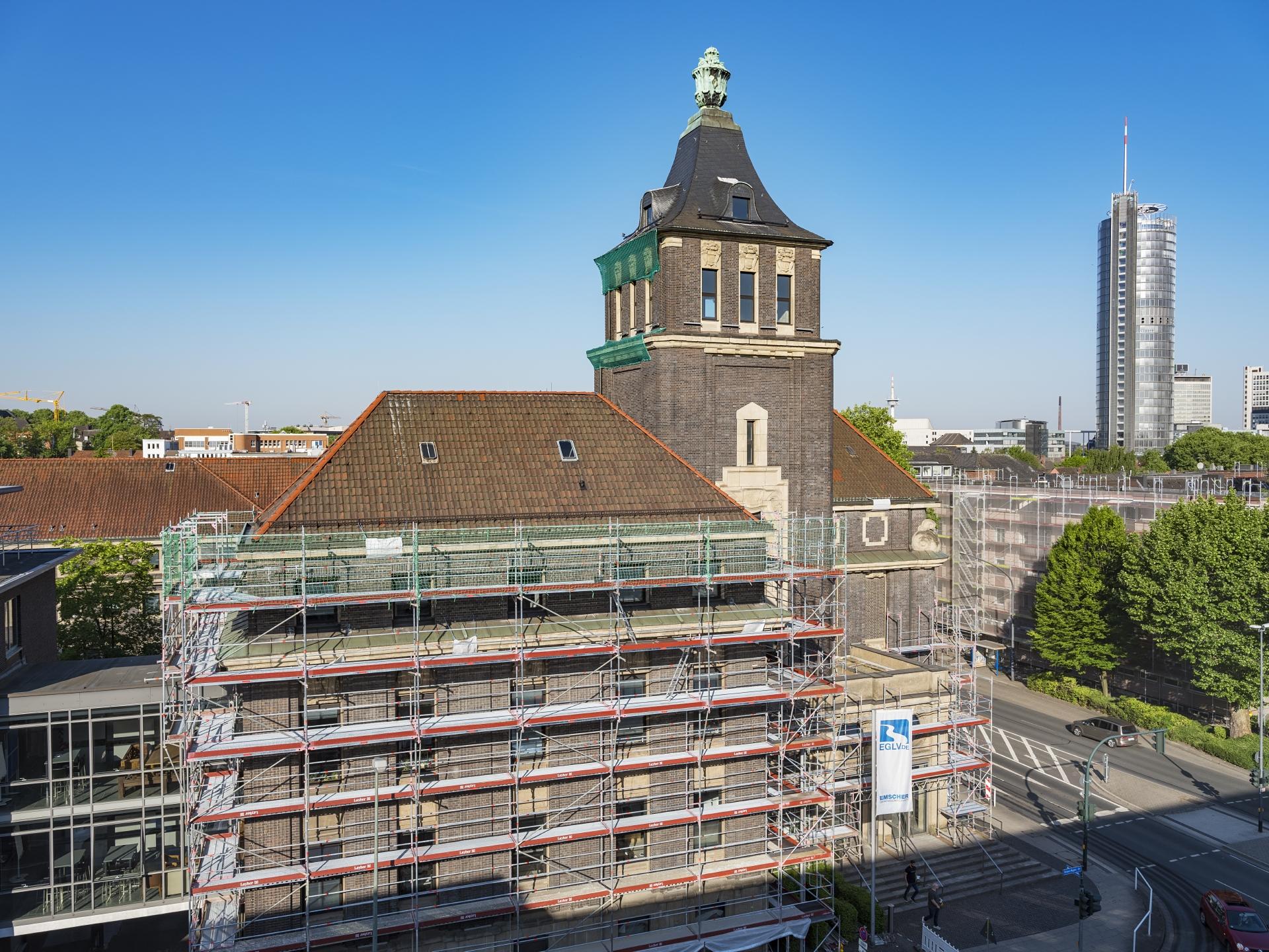 Das Emscher-Haus erstrahlt im neuen Glanz