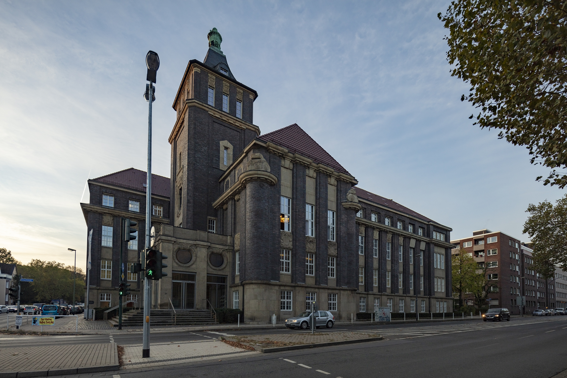 Das Emscher-Haus an der Kronprinzenstraße in Essen. Foto: Klaus Baumers/EGLV