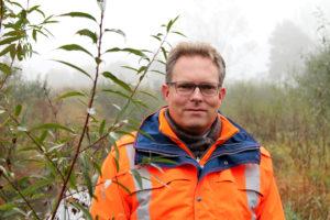 Roland Franz betreut als Projektleiter die Maßnahme, die dem Rapphofs Mühlenbach wieder zu mehr Schwung verhelfen soll.