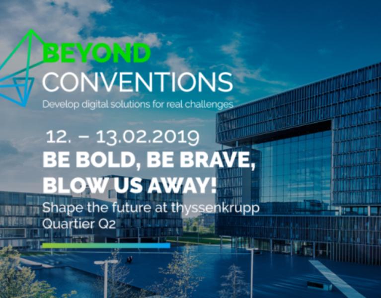 """Eine Herausforderung der besonderen Art: """"Beyond Conventions 2019"""""""