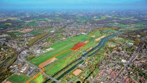 """Das Gebiet des """"Erlebensraumes Lippeaue"""" in Hamm. Foto: Hans Blossey"""