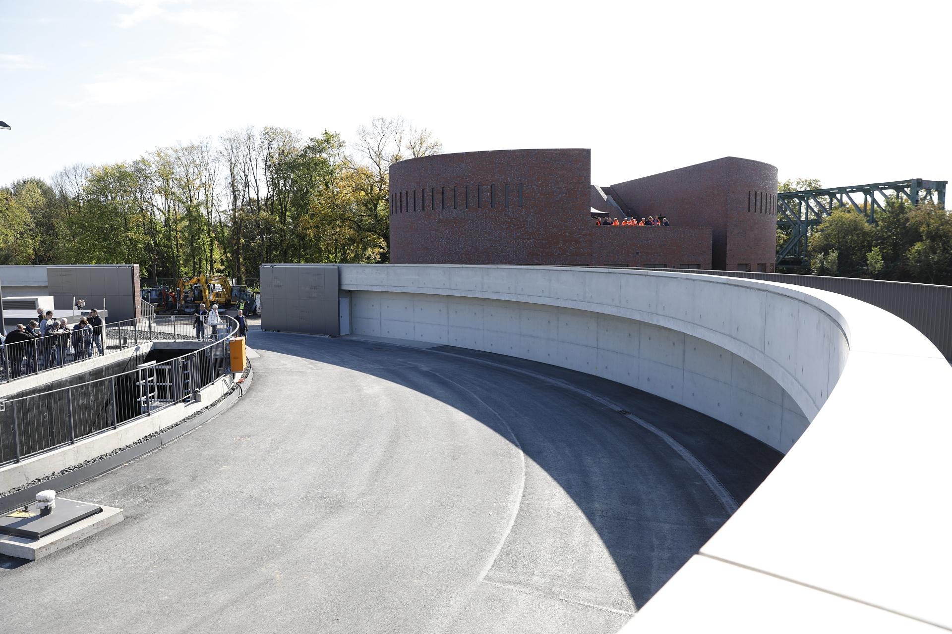 Das AKE-Pumpwerk Gelsenkirchen ist bereits fertiggestellt